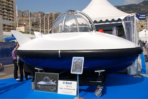 Blanson dome at 2008 Monaco Yacht Show